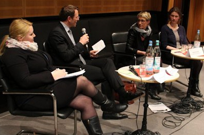 Monika Nürnberger, Jan-Marco Luczak, Nadine Schön und Elisabeth Lange (v.l.r.)
