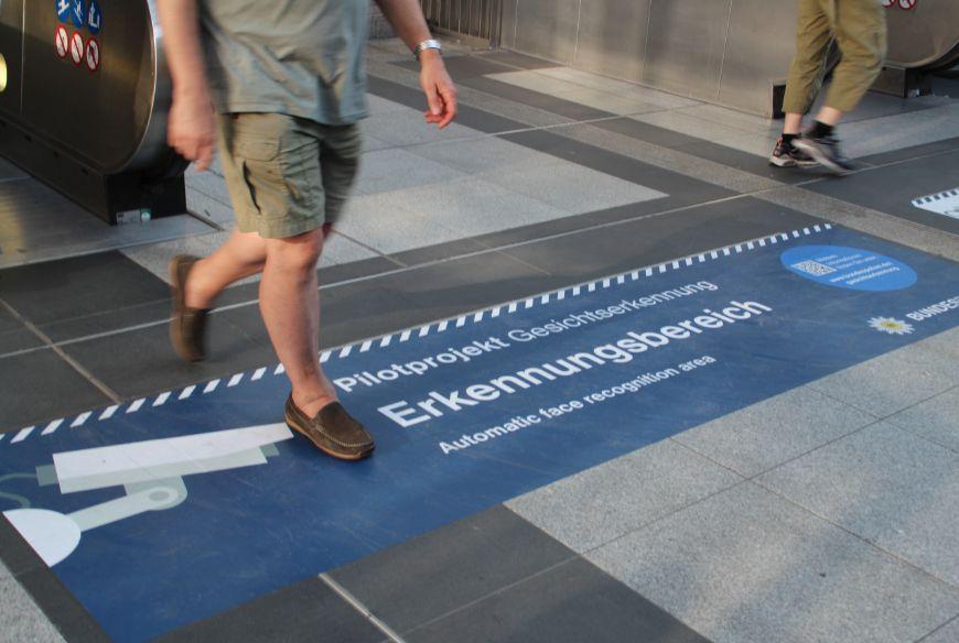 Videoüberwachung am S-Bahnhof Südkreuz