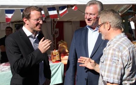 Wein- und Winzerfest 2013 mit Dr. Jan-Marco Luczak und Frank Henkel